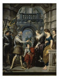 Institution of the Regency Giclee Print by Peter Paul Rubens