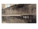 Trout Fishing, Lake St. John Giclee Print by Winslow Homer