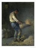 Le Vanneur Giclee Print by Jean-François Millet