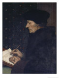 Portrait of Erasmus Giclee Print by Hans Holbein the Younger