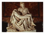 The Pieta Reproduction proc&#233;d&#233; gicl&#233;e par Michelangelo Buonarroti 