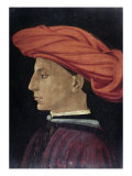 Portrait of a Young Man Giclée-tryk af Masaccio