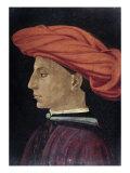 Portrait of a Young Man Giclée-tryk af Masaccio,