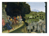 Adoration of the Shepherds, Detail Giclee Print by Domenico Ghirlandaio
