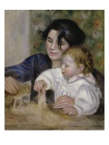 Gabrielle and Jean Giclee Print by Pierre-Auguste Renoir