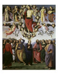 The Ascension of Christ Giclee Print by Pietro Perugino