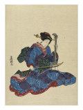 Shamisen Giclee Print by  Toyokuni