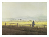 Landscape Giclee Print by Caspar David Friedrich