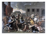 The Abduction of the Sabine Women Giclee Print by Nicolas Poussin