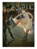 Dance at the Moulin Rouge Giclee Print by Henri de Toulouse-Lautrec
