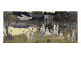 Le Bois Sacre Cher Aux Arts et Aux Muses Giclee Print by Pierre Puvis de Chavannes