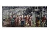 Tribute Money Giclée-tryk af Masaccio