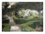 Garden at Granada Giclee Print by John Singer Sargent