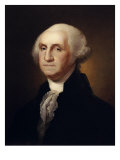 George Washington Premium Giclee Print by Rembrandt Peale