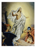The Resurrection of Jesus Reproduction proc&#233;d&#233; gicl&#233;e par Heinrich Hofmann