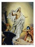 The Resurrection of Jesus Giclée-tryk af Heinrich Hofmann