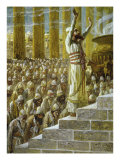 Solomon Dedicates the Temple at Jerusalem Giclee Print by James Tissot