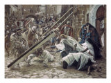 Jesus Meets His Mother Giclee Print by James Tissot