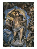 The Virgin Trying to Intercede with Christ Giclee Print by Michelangelo Buonarroti