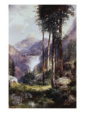 Vernon Falls, Yosemite Valley Giclee Print by Thomas Moran