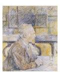 Portrait of Van Gogh Giclee Print by Henri de Toulouse-Lautrec