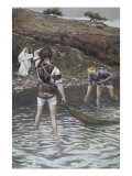 The Calling of Peter and Andrew Giclee Print by James Tissot