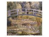 El estanque de los nenúfares Lámina giclée por Claude Monet