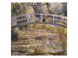 The Water Lily Pond Giclee Print by Claude Monet
