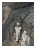 Moses and Aaron Go Up to Mount Sinai Giclee Print by James Tissot
