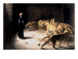 Daniel&#39;s Answer to the King Giclee Print by Briton Rivi&#232;re