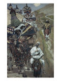 Rebecca Meets Isaac by the Way Giclee Print by James Tissot