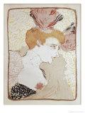 Mademoiselle Marcelle Lender Giclee Print by Henri de Toulouse-Lautrec