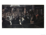 The High Priest Rends His Clothes Giclee Print by James Tissot