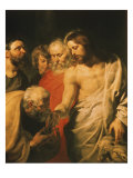 Christ's Charge to Peter Giclee Print by Peter Paul Rubens