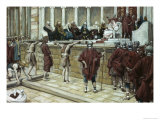 Pilate Announces Judgement from the Gabbatha Giclee Print by James Tissot