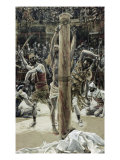The Scourging of the Back Giclee Print by James Tissot