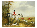 The Belvoir Hunt Giclee Print by Henry Thomas Alken
