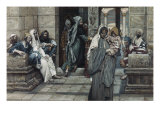 The Widow's Mite Giclee Print by James Tissot