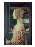 Portrait of Giovanna Tornabuoni Giclée-tryk af Domenico Ghirlandaio