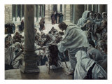 Healing the Lame in the Temple Giclee Print by James Tissot