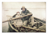 The Helping Hand Giclee Print by Emile Renouf