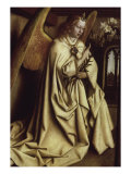 Archangel Gabriel, Ghent Altarpiece Giclee Print by Jan van Eyck 