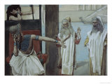 Pharaoh Sueth to Moses Giclee Print by James Tissot