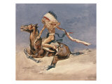 Pony War Dance Premium Giclee Print by Frederic Sackrider Remington