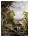 Along the Wissahickon Giclee Print by Thomas Moran