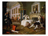 Marriage a la Mode Giclee Print by William Hogarth
