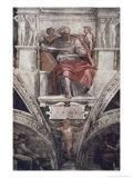 The Prophet Joel Giclee Print by  Michelangelo Buonarroti