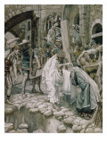 A Holy Woman Wipes the Face of Jesus Giclee Print by James Tissot