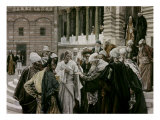 The Tribute Money Giclee Print by James Tissot