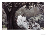 Christ Fortelling the Destruction of the Temple Giclee Print by James Tissot